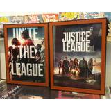 Afiche Enmarcado Justice League