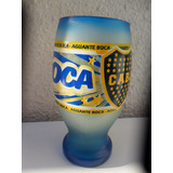 Copon De Vidrio Con El Logo Boca 15 Cn Nuevo
