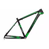 Quadro Tsw Pro Elite Preto Verde Aro 29 Aluminio Mtb Tam 19