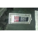 Emblema Ford Galaxie Original De Parrilla Frontal Ltd Crown