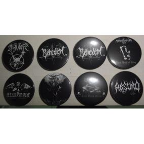 Botons Tsjuder, Behexen, Nargaroth, Absurd, Darkthrone 2,5cm