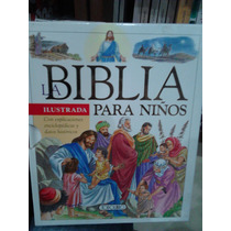La Biblia Ilustrada Para Niños Pasta Dura + Caja Protectora