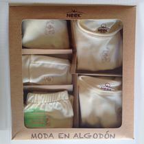 Kit De Ropa De Algodón Orgánico Para Bebé 6 Meses - 5 Piezas