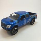 2011 Ford F-150 Svt Raptor Troca Rodas 1:24 Jada Toys Azul