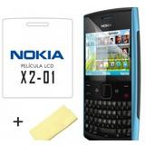 5 Película Plástico Celular Microsoft Nokia X2-01