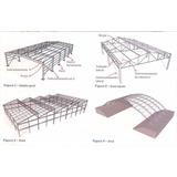 Projeto De Estruturas Metálicas Galpão Mezaninos Coberturas