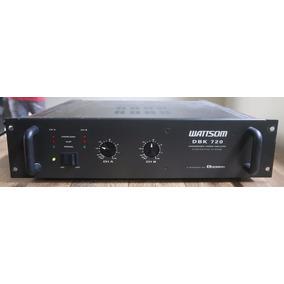 Amplificador Whattsom Dbk 720 Ciclotron Potencia