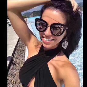 Óculos De Sol Feminino Chanel 58617-5 Com Proteção Uv400