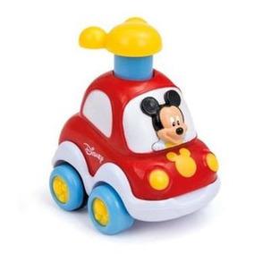 Disney Carro Apreta Y Rueda De Mickey Mouse Super Divertido