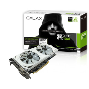 Placa De Vídeo Geforce Gtx 1060 3gb Gddr5 192bits Galax