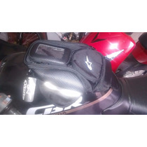 Bolsa Mochila Alforge P/ Tanque Imã Celular Moto Alpinestars