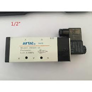 4v410-15-ac110v Valv Simples Sol 5/2 Vias 1/2 Com Bob Airtac