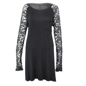 Mb Boutique Lace Vestido De Malha ( Extra Grande, Grande Xx,