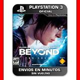 Beyond Two Souls Ps3 Digital | Beyond Dos Almas Ps3