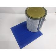 160 Pçs Piso Direcional Azul Pvc  2 Latas De Cola De  2.8kg