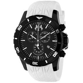 Reloj Jivago Ultimate Silicon Blanco Mineral Hombre Jv0124