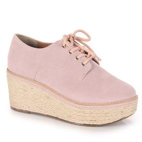 Sapato Oxford Feminino Lara - Rosa