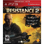 Ps3 Resistance 2 Impecable Local Banfield Hacemos Canjes