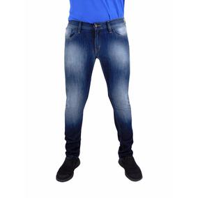 Jeans Breton De Mezclilla Para Caballero. Skinny Fit. Bjm003