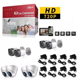 Dahua Videovigilancia Kits 2,4,6,8,12,16 Camaras