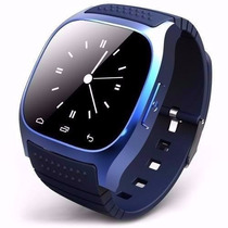 Smart Watch M26 Relógio Bluetooth Touch Iphone Android Pefg