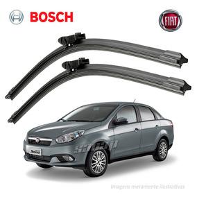 Kit Limpador Para-brisa Bosch Fiat Grand Siena 2012 A 2017