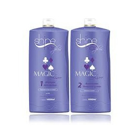 Magic Liss Shine Hair Plus Progressiva Sem Formol 2x1 Litro
