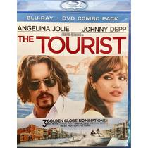 Bluray The Tourist Johnny Depp Angelina Jolie Usado