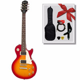 Guitarra Eléctrica Epiphone Les Paul Lp100 Chsb - Queen Inst