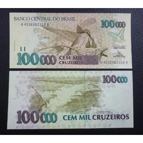 Brasil Billete 100000 Cruzeiros Unc 1992