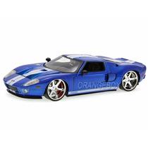 Ford Gt Velozes E Furiosos Jada Toys 1:24 Azul Jad-97177