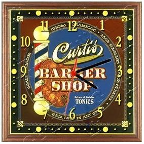 7c37c2e2fb5 Placa Relógio Vintage King Mdf 27x27 Barber Shop Cloqbc.0219 · R  29 98