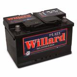Bateria Auto Willard Ub740 12x75 Alfa Romeo 145 1.8-ts-2.0td