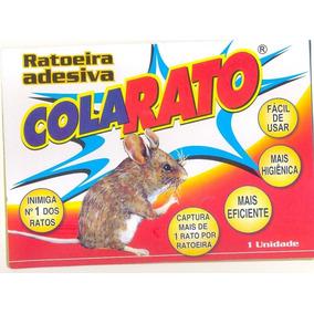 Ratoeira Adesiva Cola Pega Rato, Lagatixas, Barata, Aranha