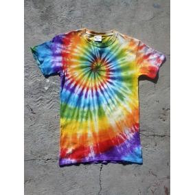 Playeras Tie Dye Pintadas A Mano Estiló Hippie