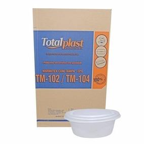 Embalagem Marmitex Isopor Totalplast Tm 102 750ml Cx C/100