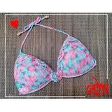 Bikinis Multicolores Tejidos A Crochet