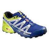 Tenis Hombre Salomon Trail Running Speedcross Vario Azul