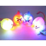 Colgantes Angry Birds Luminosos A Led X 40 U