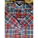 Camisa Masculina Radade Ml Xadrez Ref.295 Vermelho amarelo v 516498d6b82e0