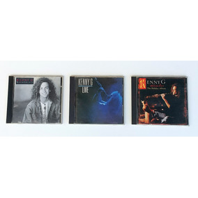 Cd Kenny G Kit C/3 Cds Breathless Live Miracles Original