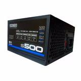 Fuente De Poder Acteck Edge Slim S500 500w Atx 20+4 Pines