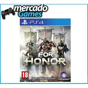 For Honor Juego Físico Ps4 Original Sellado Con Factura