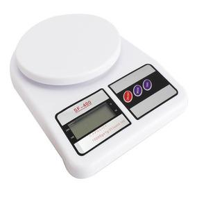 Balança Digital Cozinha Até 10kg Alta Precisão Branca