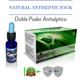 Citrobac Candibac Doble Poder Antiséptico Natural.