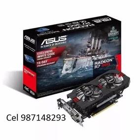 Tarjeta De Video Asus Amd Radeon R7 360, 2gb Gddr5 128-bit