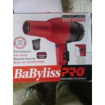 Secador De Pelo Superturbo 2000w Babyliss Pro