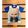 Poderoso Chefinho Boss Baby Camiseta Personalizada Infantil