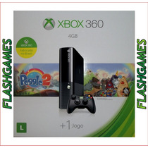 Console Xbox 360 4gb Nacional Travado - Pronta Entrega