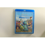 Bluray Filme Universidade Monstros - Disney Original Dublado